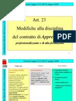 Apprendistato DL 112 2008