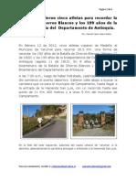 Informe 2012 26 Km Samuel C Valero M 2