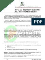 Propuesta Reglamento Segunda Actividad Lleida