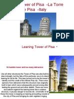 Leaning Tower of Pisa - La Torre De