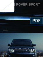 Range Rover Sport 2010 Brochure UK