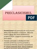 Preclasicismul
