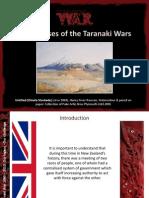 Big Causes of Taranaki War