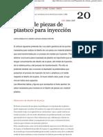 Conceptos basicos en Diseño de piezas de plástico para inyección