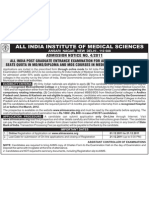 Admission Notice No 4-2011_AIPGMEE-2012