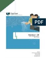 CSharp Handout v1.0