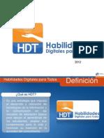 Presentación HDT evaluación diagnóstica y formación
