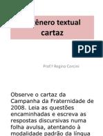 Cartaz Atividade Genero Textual