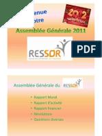 Assemblée Générale 2011x