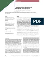 Cell-Mediated Immune Response to Human virus