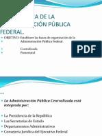 @ LEY ORGÁNICA DE LA ADMINISTRACIÓN PÚBLICA FEDERAL