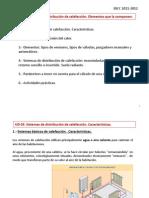 IDCC UD 3. Sistema de distribución de calefacción. Elementos que la componen.