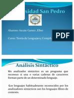 Análisis Sintactico