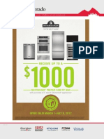 MasterCard® Prepaid Card by mail with purchase of select KitchenAid Brand appliances