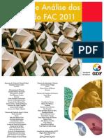 Relatório FAC 2011 - publicação (DICult)