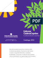 Catalogo de productos de la Editorial Cadena Capriles, editorial educativa venezolana