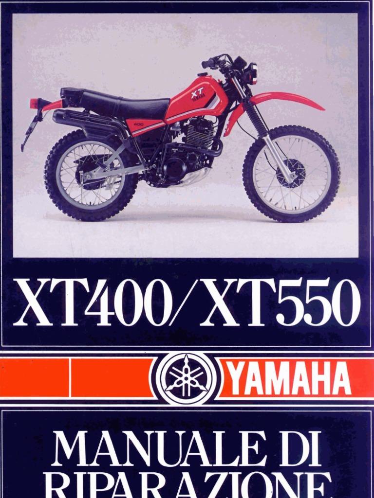 Schema Elettrico Xt : Yamaha xt xt manuale per officina italiano