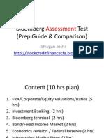 Bloomberg Assessment Test