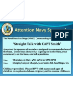 Attention Navy Spouses!