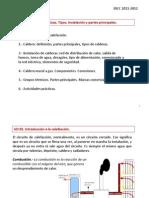 IDCC UD 02. Calderas domésticas.