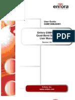 GSM1308 SA-G+ Quad-Band GSM User Guide Rev1.02