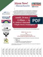 Haitian Framingham Citizenship Clinic