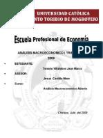 Análisis Macroeconómico del Perú