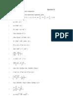 Ejercicio 13 del libro de álgebra de Baldor