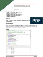 Consultas Con T-SQL