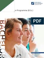 Die Bachelor-Studienprogramme