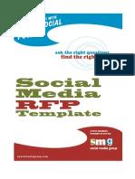 Social Media Rfp Template