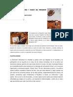 Análisis de la Memoria y Cuenta del presidente Chávez