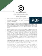 Regulamento Concurso Risadaria 2012