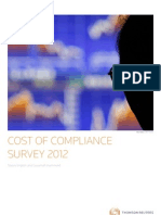 Cost of Compliance