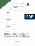 PR- 450-001 Radicacion de cuentas