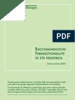raccomandazioni_faringotonsilite pediatrica