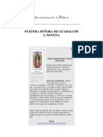 Virgen de Guadalupe Roga Por Nosotros