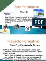 Contenido Propuesto Trayecto Formativo 4 Niveles