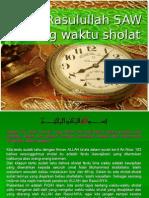 Waktu Sholat
