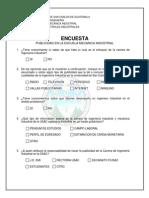 Encuesta - Practica 4