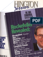 Washington Dossier May 1985
