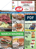 IGA's specials for the week of March 12th, 2012