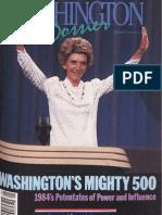 Washington Dossier January 1985