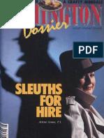 Washington Dossier August 1983