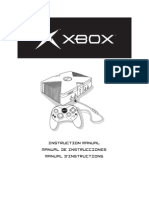 Xbox Instruction Manual