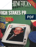 Washington Dossier April 1985