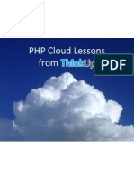 PHP Cloud + ThinkUp
