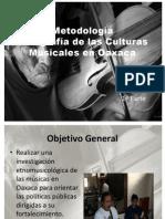 Etnografía de las Culturas Musicales en Oaxaca-enero2012