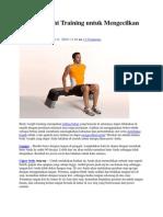 5 Body Weight Training Untuk Mengecilkan Perut