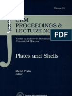 Plates and Shells by Michel Fortin- Canadian Mathematical Society. Seminar